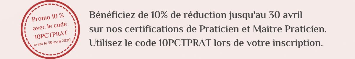 Promo de 10 PCT sur Certifications