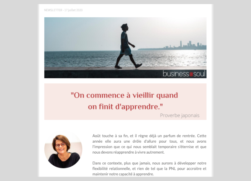 Newsletter aout 2020