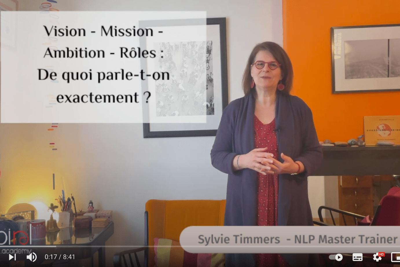 Vision Mission Ambition Roles