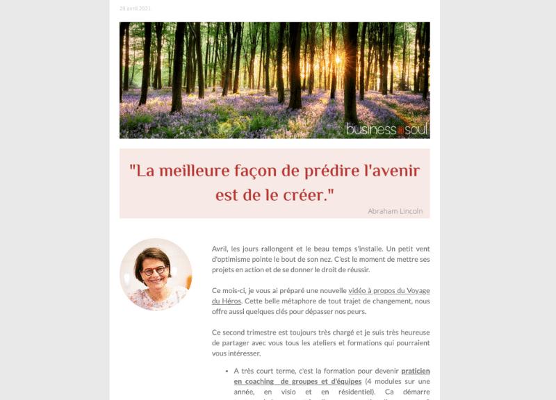 Newsletter Avril 21