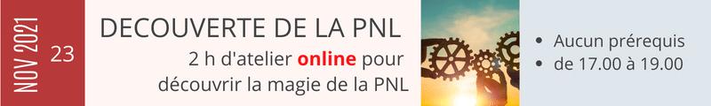 Découverte de la PNL