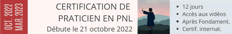 Certification de Praticien